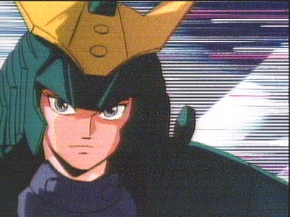 Seiji's appearance in the Samurai Troopers's Intro Theme.