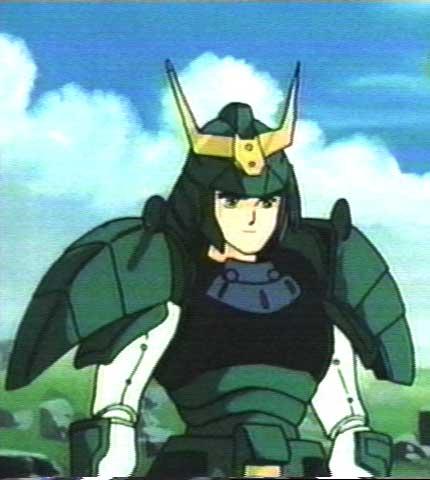 Seiji's standing in a field.