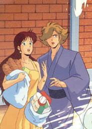 Seiji and Nasutei trying to avoid water.